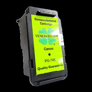 Tinta-veneta-refill-recycle-CANON PG745 Black