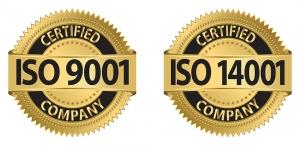 logo ISO bulat