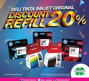 icon promo discount diskon refill inkjet